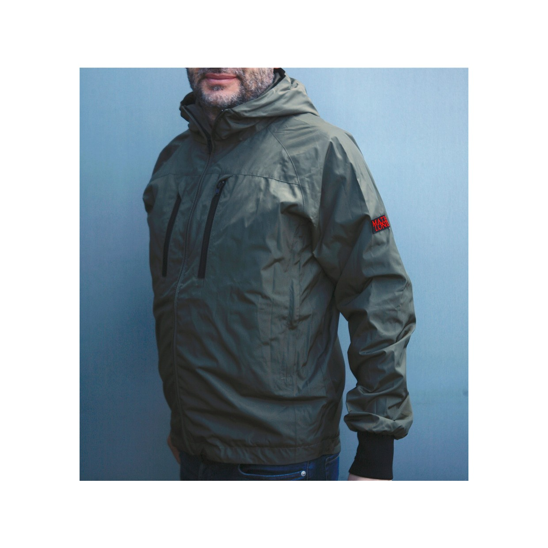Mathori London - Sarpedon Rain/wind Jacket (Olive Green)