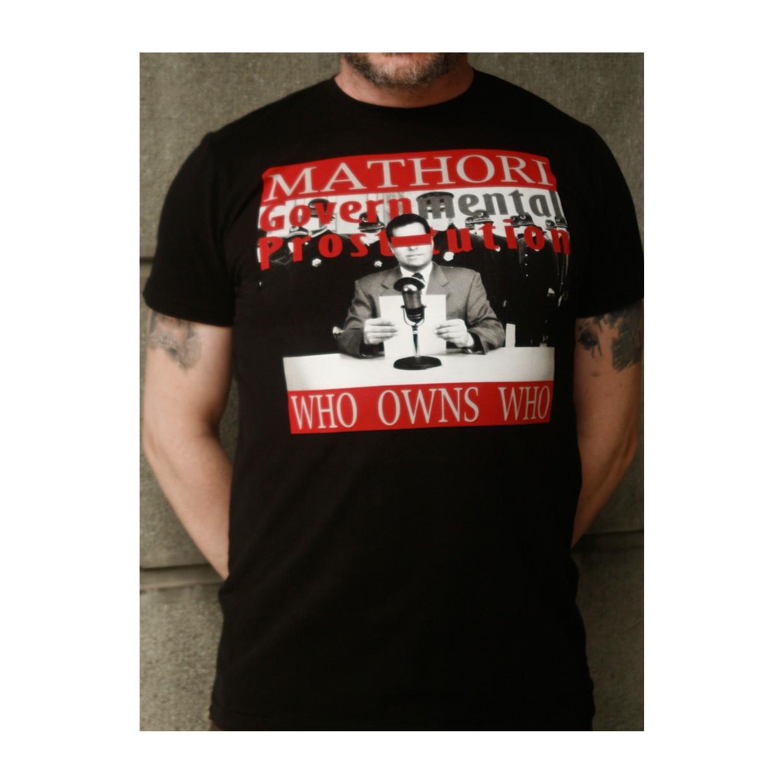 Mathori London - Mental Prostitution T-Shirt in Black