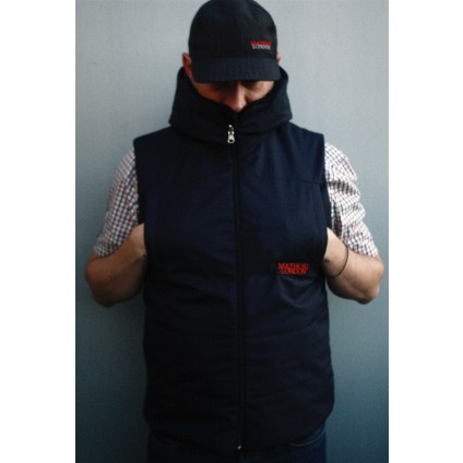 Mathori London - Inside Out Vest (Navy Blue)
