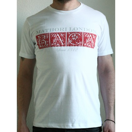 Mathori London -  ''BACA'' T-Shirt in White