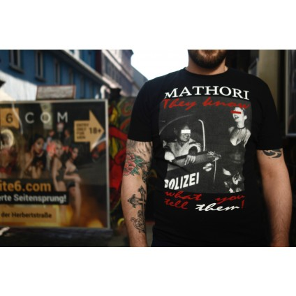 Mathori London - ''They know'' T-Shirt