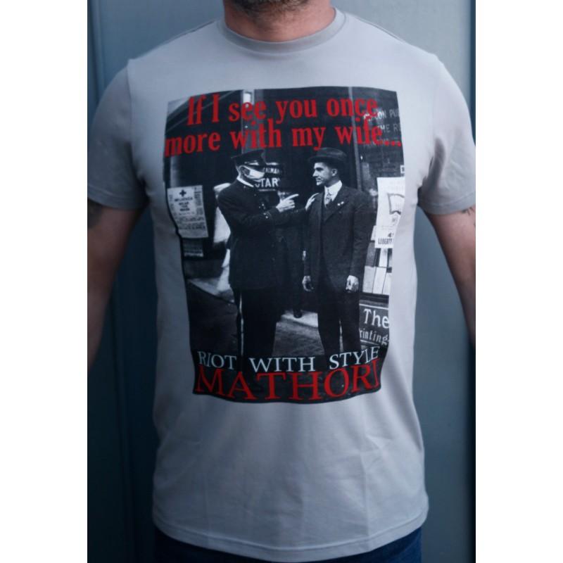 Mathori London - Gentleman Grey T-Shirt