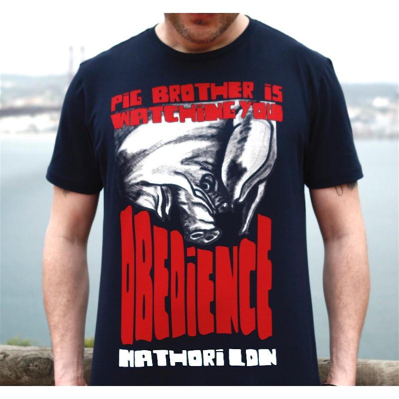 Mathori London - Obedience Navy Blue T-Shirt