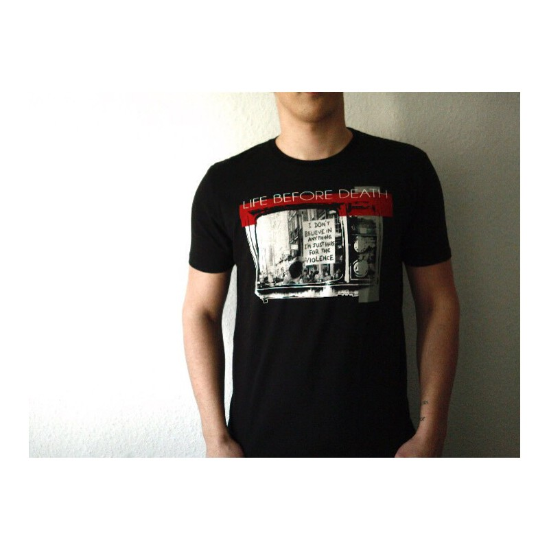 Mathori London - Life Before Death T-Shirt in Black