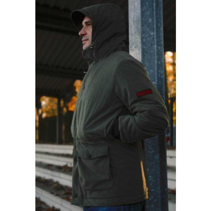 Mathori London - Parka in Olive Green