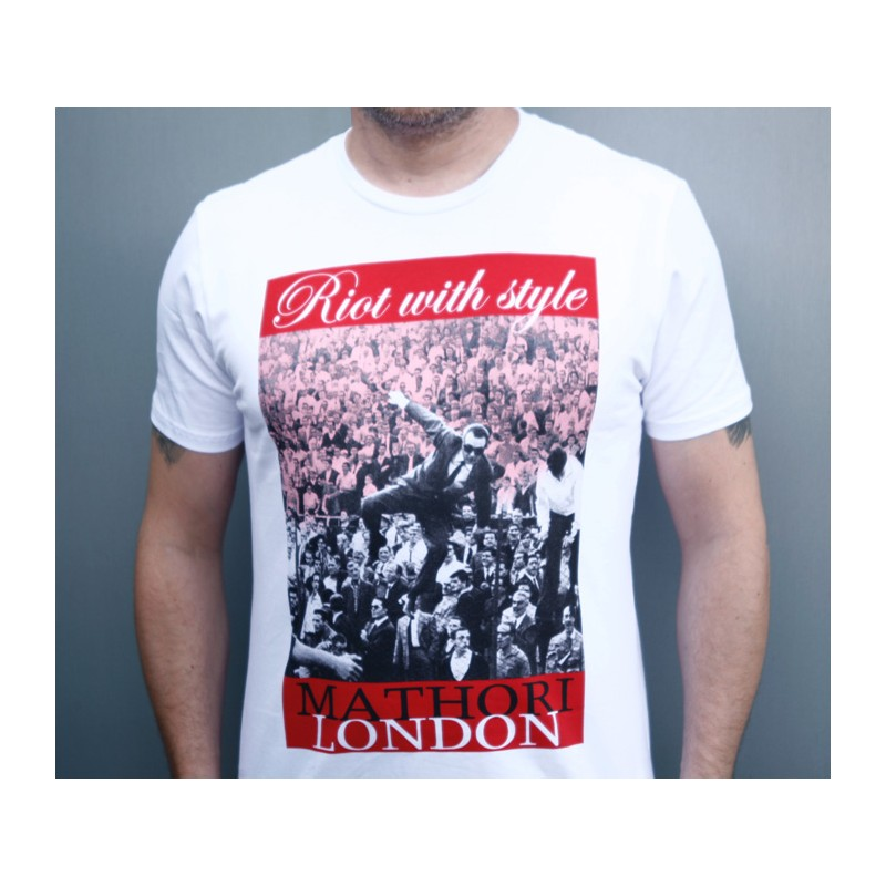 Mathori London - RWS T-Shirt in White