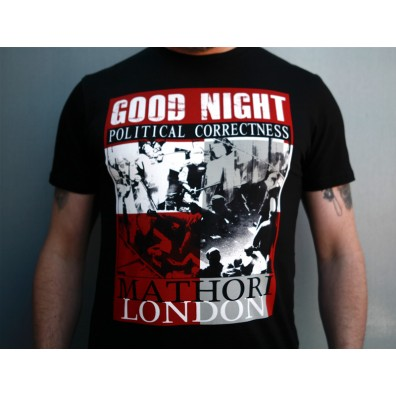 Mathori London - Good Night T-Shirt in Black