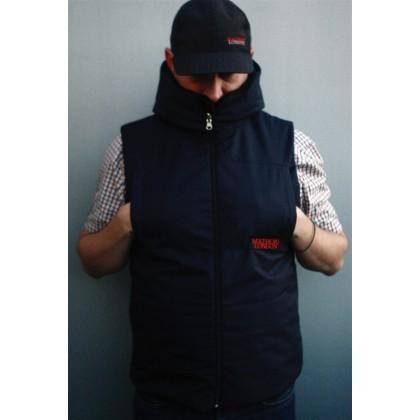 Mathori London - Inside Out Vest (Navy Blue)