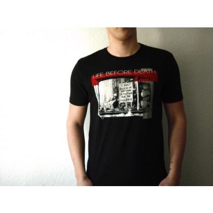 Mathori London - Life Before Death T-Shirt in Black