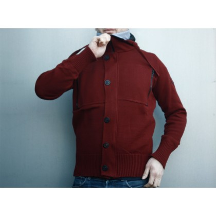 Mathori London - Budicca Maroon Hoodie (Limited Edition)