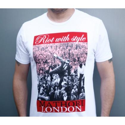 Mathori London - RWS T-Shirt in White